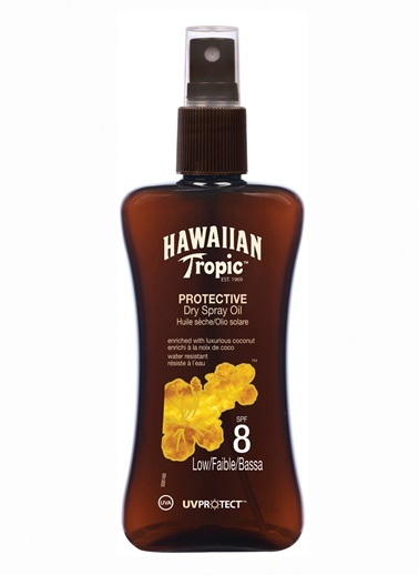 Protective Dry Spray Oil Yağ Spf8 200Ml-Hawaiian Tropic